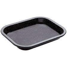 Black 29cm Carbon Steel Professional Baking Tray