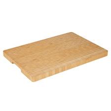 Rectangular End-Grain Bamboo Chopping Board