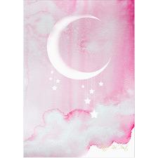 Midnight Pink Unframed Paper Print
