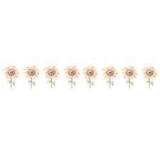 8 Piece Mini Sunflower Wall Decal Set