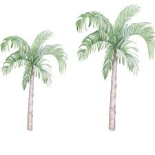 2 Piece Palm Tree Wall Decal Set