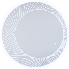 Bucciano Round LED Bathroom Wall Mirror