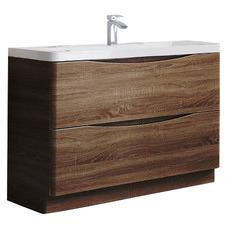 Ancona Freestanding Single Sink Vanity Unit