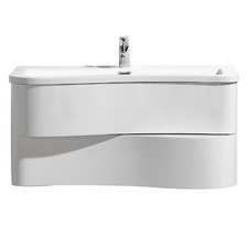 Formica Wall Mounted Bathroom Vanity Unit