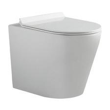 Flay-R Vitreous China Wall Faced Toilet Pan