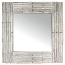 Whitewash Ailsa Paulownia Wood Wall Mirror