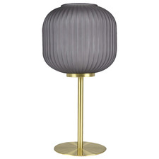 Grey Jacqueline Metal & Glass Table Lamp