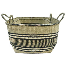 2 Piece Rapu Seagrass Basket Set
