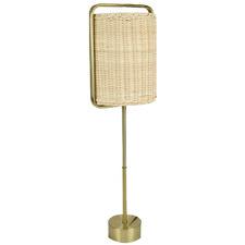 Salma Metal & Rattan Table Lamp