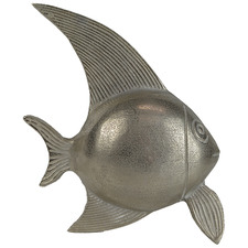 Silver Flynn Fish Metal Figurine