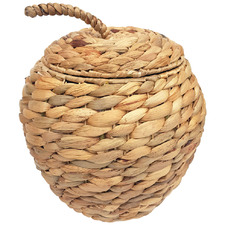 Natural Apple Seagrass Basket