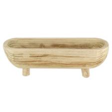 Watts Paulownia Wood Footed Platter