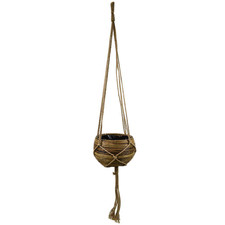50cm Bowl Rattan Hanging Basket