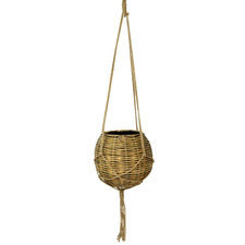 66cm Ball Rattan Hanging Basket