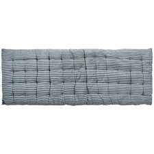 Quilted Cotton Bench Cushions (Set of 2)