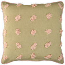 Tufted Cotton Cushion