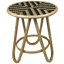 Arklow Rattan & Bamboo Side Table