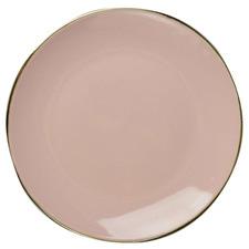Pink Victoria 27.2cm Ceramic Dinner Plates (Set of 6)
