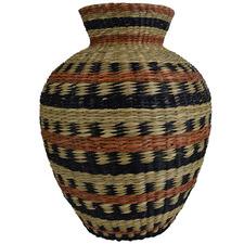 34cm Siera Seagrass Vase