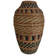 40cm Siera Seagrass Vase