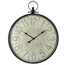 Fob Theater Metal Wall Clock