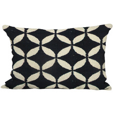 Diamond Eye Rectangular Cotton Cushion