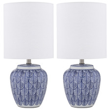 Harry Ceramic Table Lamps (Set of 2)