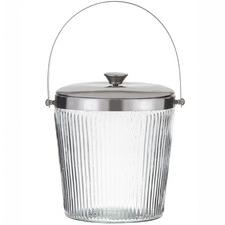 Kezie Glass Ice Bucket with Lid
