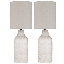 Terrece Ceramic Table Lamps (Set of 2)