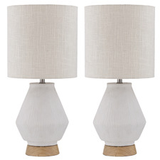 Shim Ceramic Table Lamps (Set of 2)