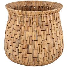 Natural Loreto Water Hyacinth Basket