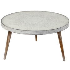 Vanya Wood & Glass Coffee Table