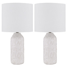 Amalia Ceramic Table Lamps (Set of 2)