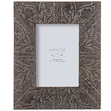 Grey Washed Anila Wooden Photo Frame