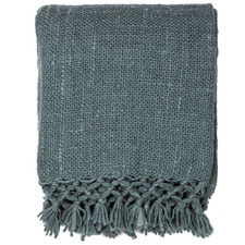 Teal Arles Wool-Blend Throws