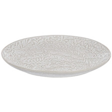 Lierre Embossed Stone Side Plate