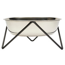 Briar Woof Stainless Steel Dog Bowl