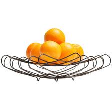 Grid Steel Foldable Fruit Bowl