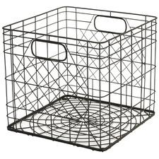 Milk Steel Storage Crate