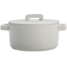 White Epicurious 500ml Porcelain Casserole Dish