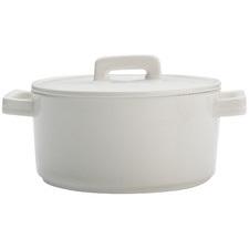 White Epicurious 1.3L Porcelain Casserole Dish