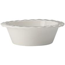 White Epicurious 13cm Fluted Porcelain Pie Dishes (Set of 6)
