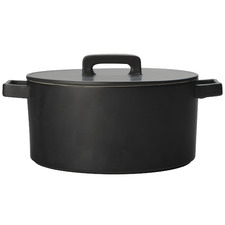 Black Epicurious 1.3L Porcelain Casserole