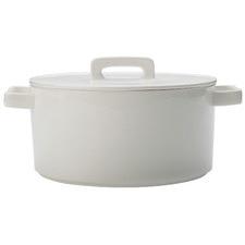 White Epicurious 2.6L Porcelain Casserole Dish