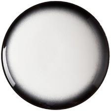 Granite Caviar 20cm Porcelain Coupe Side Plates (Set of 4)