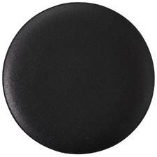 Black Caviar 36cm Round Porcelain Platters (Set of 2)