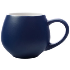 Navy Tint 120ml Porcelain Espresso Cups (Set of 6)