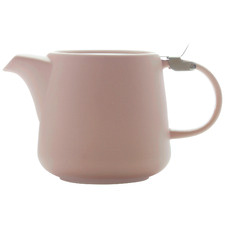 Rose Tint 600ml Porcelain Teapot with Infuser