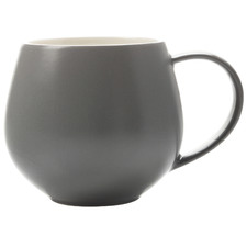 Charcoal Tint 450ml Porcelain Mugs (Set of 6)