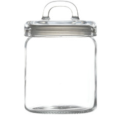 Refresh 1.2L Glass Canister with Lid